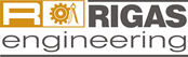 Rigas-Engineering Retina Logo